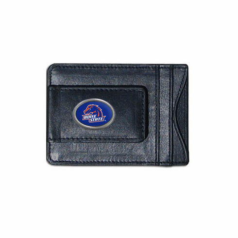 Boise State Leather Cash and Card Holder - BACKORDERED
