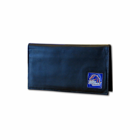 Boise State Leather Checkbook Cover