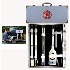 Boston Red Sox 8pc BBQ Set - BACKORDERED