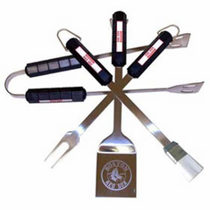 Boston Red Sox BBQ Grill Utensil Set - BACKORDERED