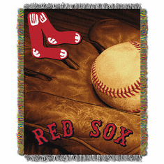Boston Red Sox MLB Woven Vintage Tapestry Throw