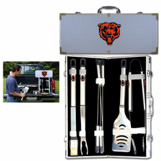 Chicago Bears 8pc BBQ Set - BACKORDERED