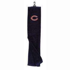 Chicago Bears Embroidered Tri-Fold Golf Towel