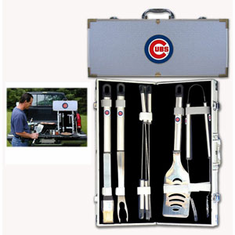 Chicago Cubs 8pc BBQ Set - BACKORDERED