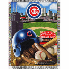 Chicago Cubs Home Field Advantage Throw - BACKORDERED