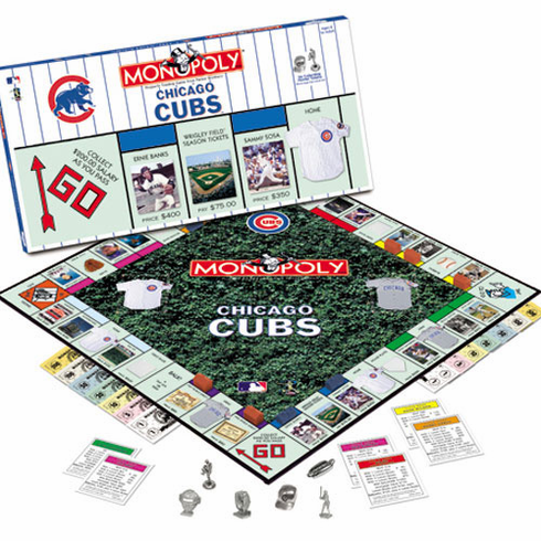 Chicago Cubs Monopoly Game