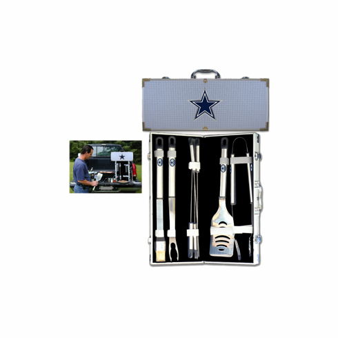 Dallas Cowboys 8pc BBQ Set - BACKORDERED