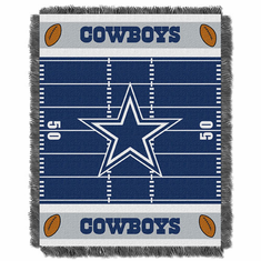 Dallas Cowboys Triple Woven Jacquard  Baby Throw