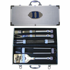 Duke Blue Devils 8pc BBQ Set - BACKORDERED