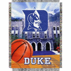 Duke Blue Devils Home Field Advantage Throw - BACKORDERED