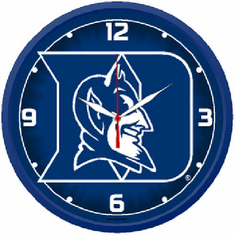 Duke Blue Devils Round Wall Clock - BACKORDERED