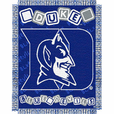 Duke Blue Devils Triple Woven Jacquard  Baby Throw - BACKORDERED