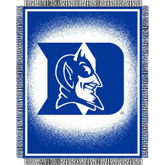 Duke Blue Devils Triple Woven Jacquard Throw - BACKORDERED
