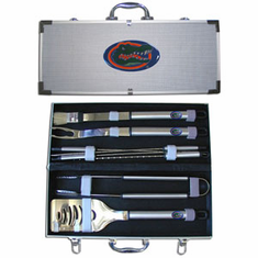 Florida Gators 8pc BBQ Set - BACKORDERED