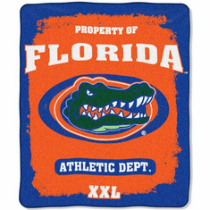 Florida Gators Property of Raschel Blanket