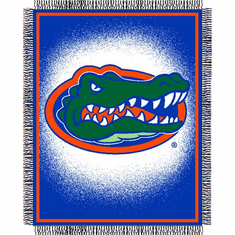 Florida Gators Triple Woven Jacquard Throw - BACKORDERED