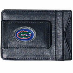 Florida Leather Cash and Card Holder - BACKORDERED