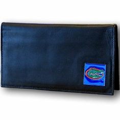 Florida Leather Checkbook Cover