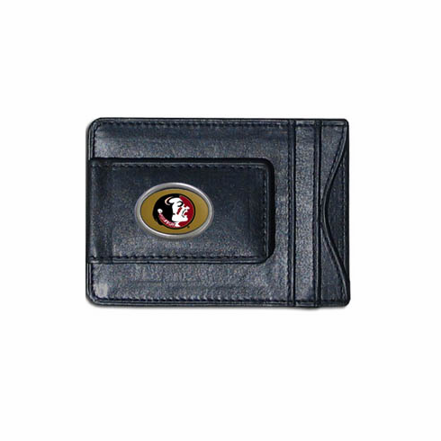 Florida State Leather Cash and Card Holder - BACKORDERED
