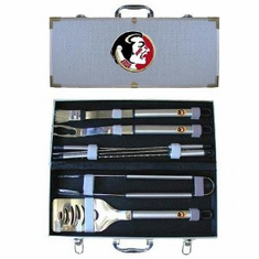 Florida State Seminolels 8pc BBQ Set - BACKORDERED