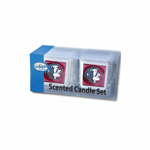 Florida State Seminolels Candle Set