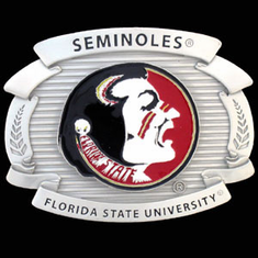 Florida State Seminolels Oversized Belt Buckle