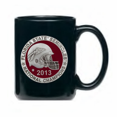Florida State Seminoles 2013 National Championship Black Coffee Mug