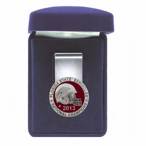 Florida State Seminoles 2013 National Championship Money Clip