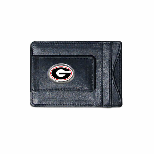 Georgia Leather Cash and Card Holder - BACKORDERED