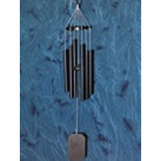 Grace Note Powder Coated Earthsong Black Windchime