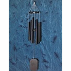 Grace Note Powder Coated Himalayan Echo Black Windchime