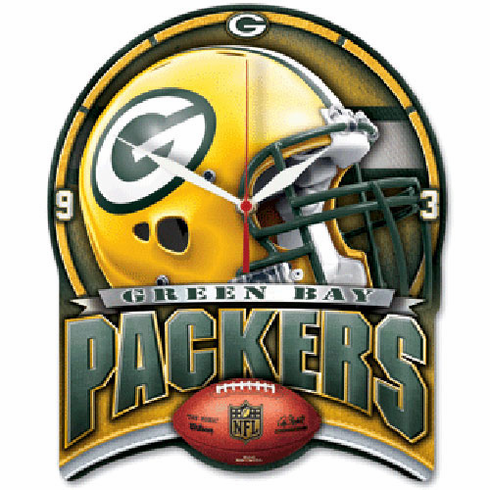 Green Bay Packers High Definition Clock