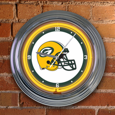 Green Bay Packers Neon Clock - BACKORDERED