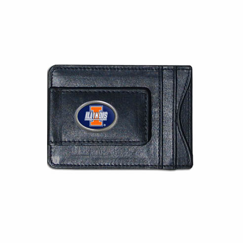 Illinois Leather Cash and Card Holder - BACKORDERED
