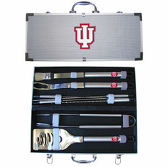 Indiana Hoosiers 8pc BBQ Set - BACKORDERED