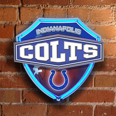 Indianapolis Colts Neon Shield Wall/Window Lamp