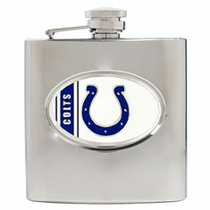 Indianapolis Colts Stainless Steel Hip Flask