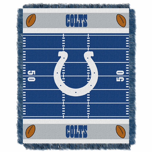 Indianapolis Colts Triple Woven Jacquard  Baby Throw