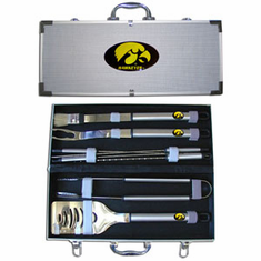 Iowa Hawkeyes 8pc BBQ Set - BACKORDERED