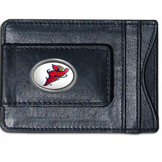 Iowa State Leather Cash and Card Holder - BACKORDERED