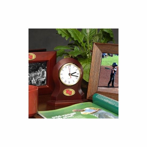 Kansas Jayhawks Desk Clock - BACKORDERED