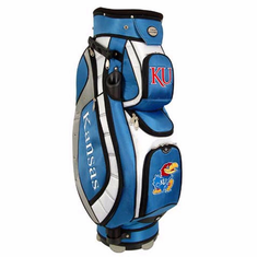 Kansas Jayhawks Lettermans Club II Cooler Cart Bag