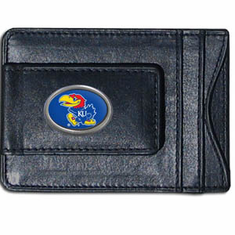 Kansas Leather Cash and Card Holder - BACKORDERED