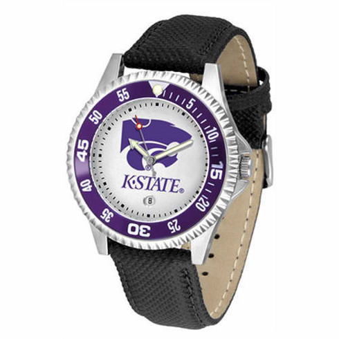 "Kansas State Wildcats ""Competitor"" Mens Watch"