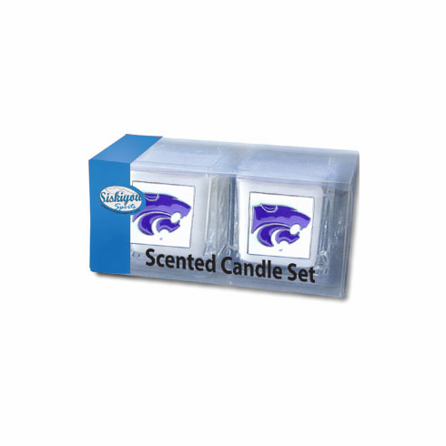 Kansas State Wildcats Candle Set - BACKORDERED