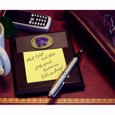 Kansas State Wildcats Desk Memo Pad Paper Holder
