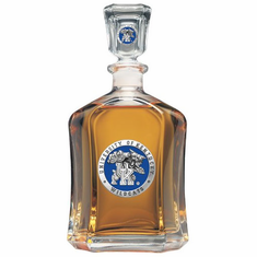 Kentucky Wildcats Glass Capital Decanter