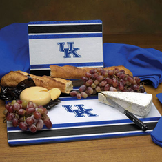 Kentucky Wildcats Glass Cutting Board Set - BACKORDERED