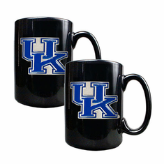 Kentucky Wildcats Two Piece Coffee Mug Set