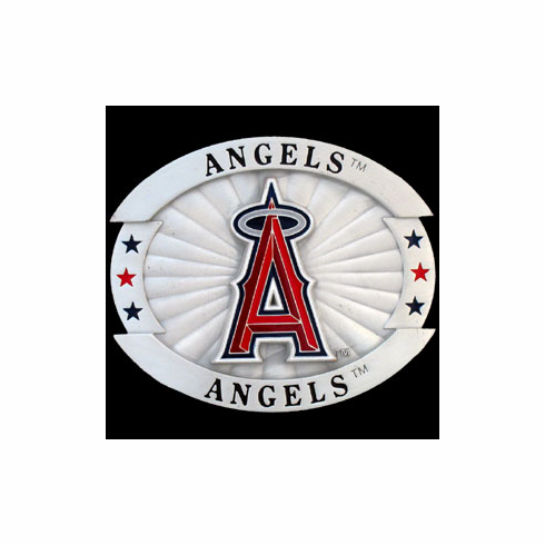 Los Angeles Angeles Oversized Belt Buckle